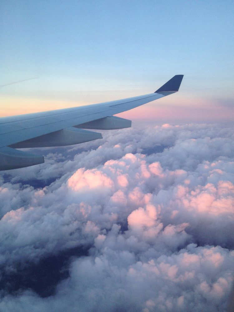 Image result for picture of sky from plane