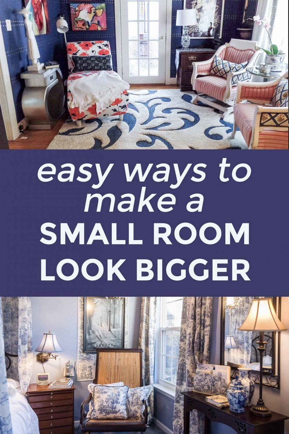 Small Space Decorating Ideas How To Make A Small Room Look Bigger In 2020 Small Rooms Rustic Home Interiors Decorating Small Spaces