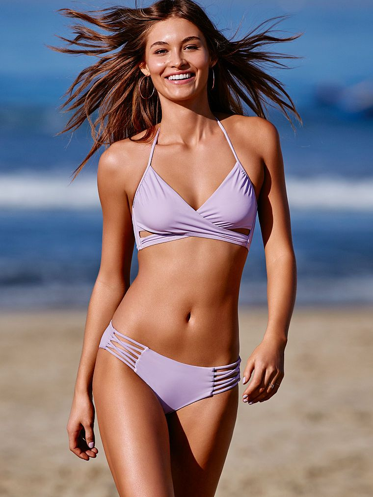 8bb63b404a Knotted Back Body Wrap Top - PINK - Victoria's Secret | Cruise ...