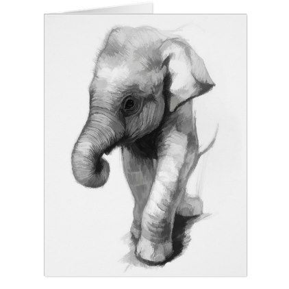 Elephant baby card elephant baby elephant baby negle Gallery