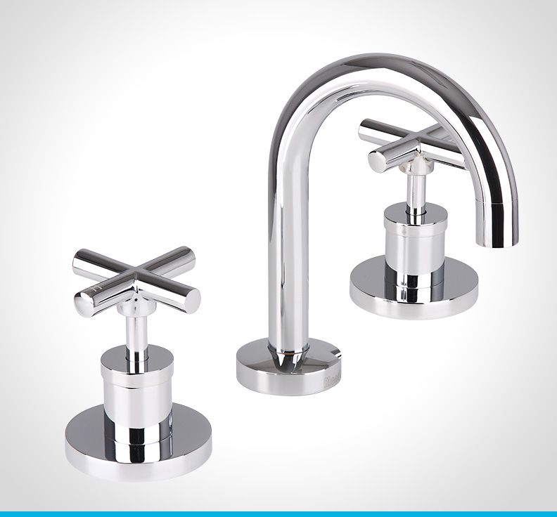 Looking for ceramic disc taps  Mondella offer a range of ceramic disc taps  from the Resonance collection  Available at Bunnings Warehouse. Resonance chrome cross handle basin tap set   Tapware by Mondella