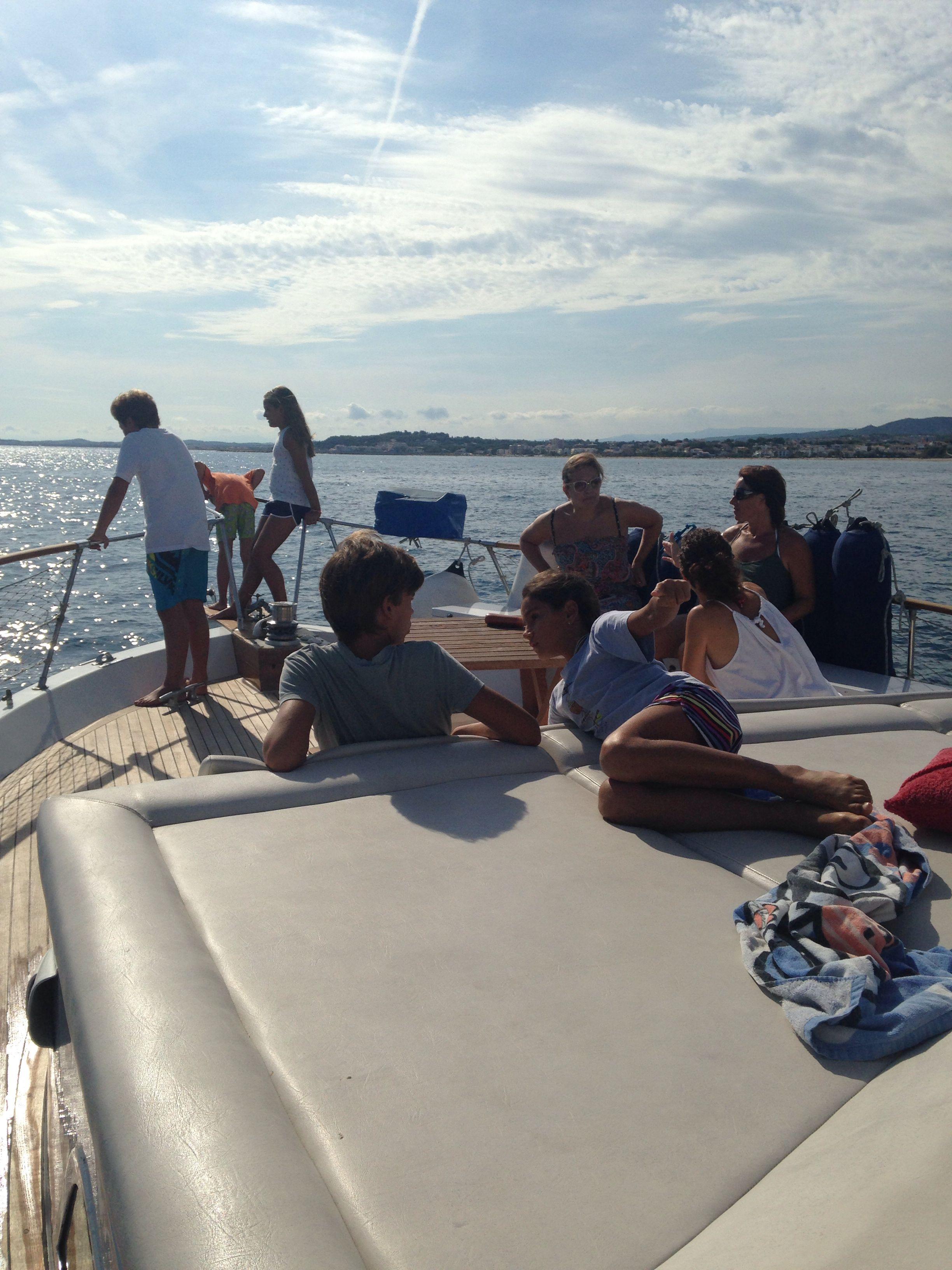 Navegando hacia Altafulla