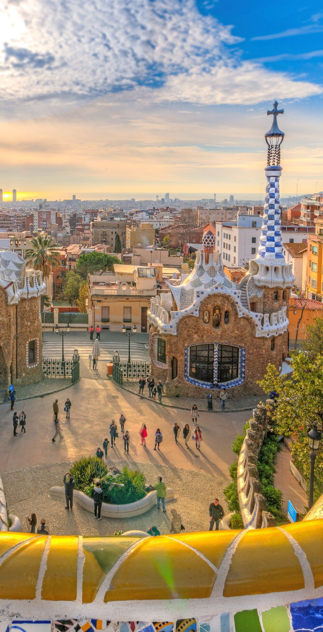 Barcelona Spain Stroll Along Park Guell And Marble At The Architectural Artistry Of Antony Gaudi The Travel Photography Spain Travel Barcelona Spain Travel