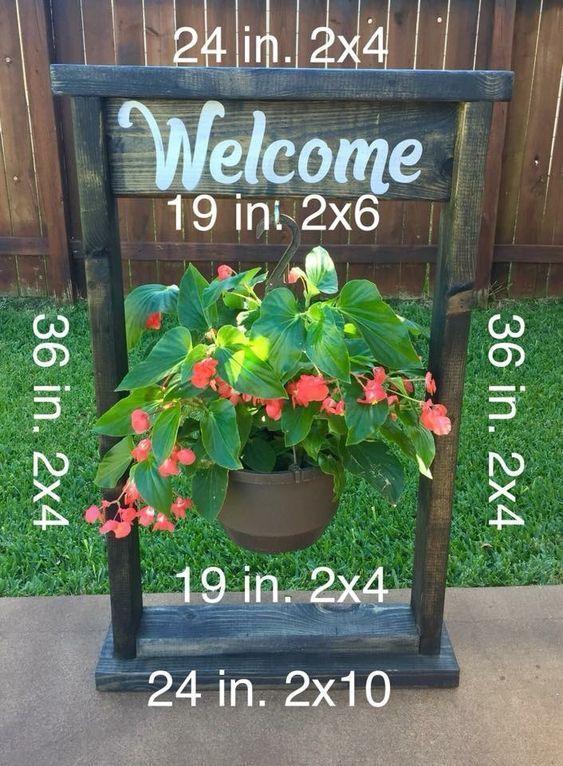 33 Best Outdoor Creative Diy Hanging Planter Ideas Diy 400 x 300