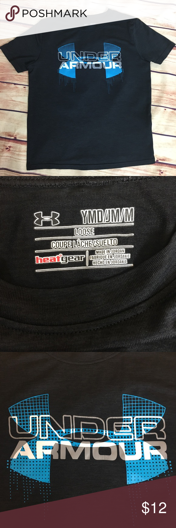 Details about  /Youth Under Armour Pullover Shirt Medium