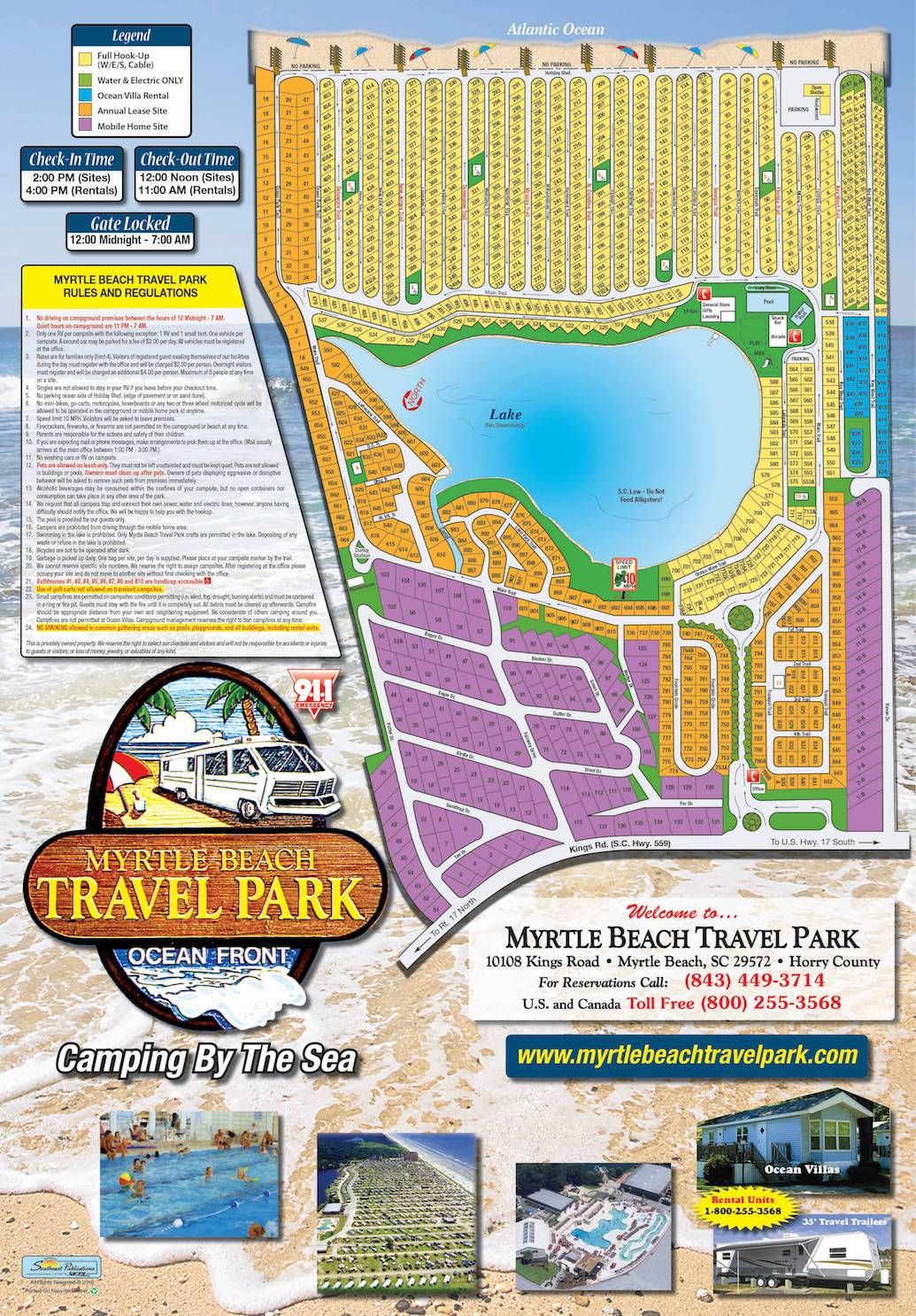 Maps & Directions Rv parks and campgrounds, Beach trip