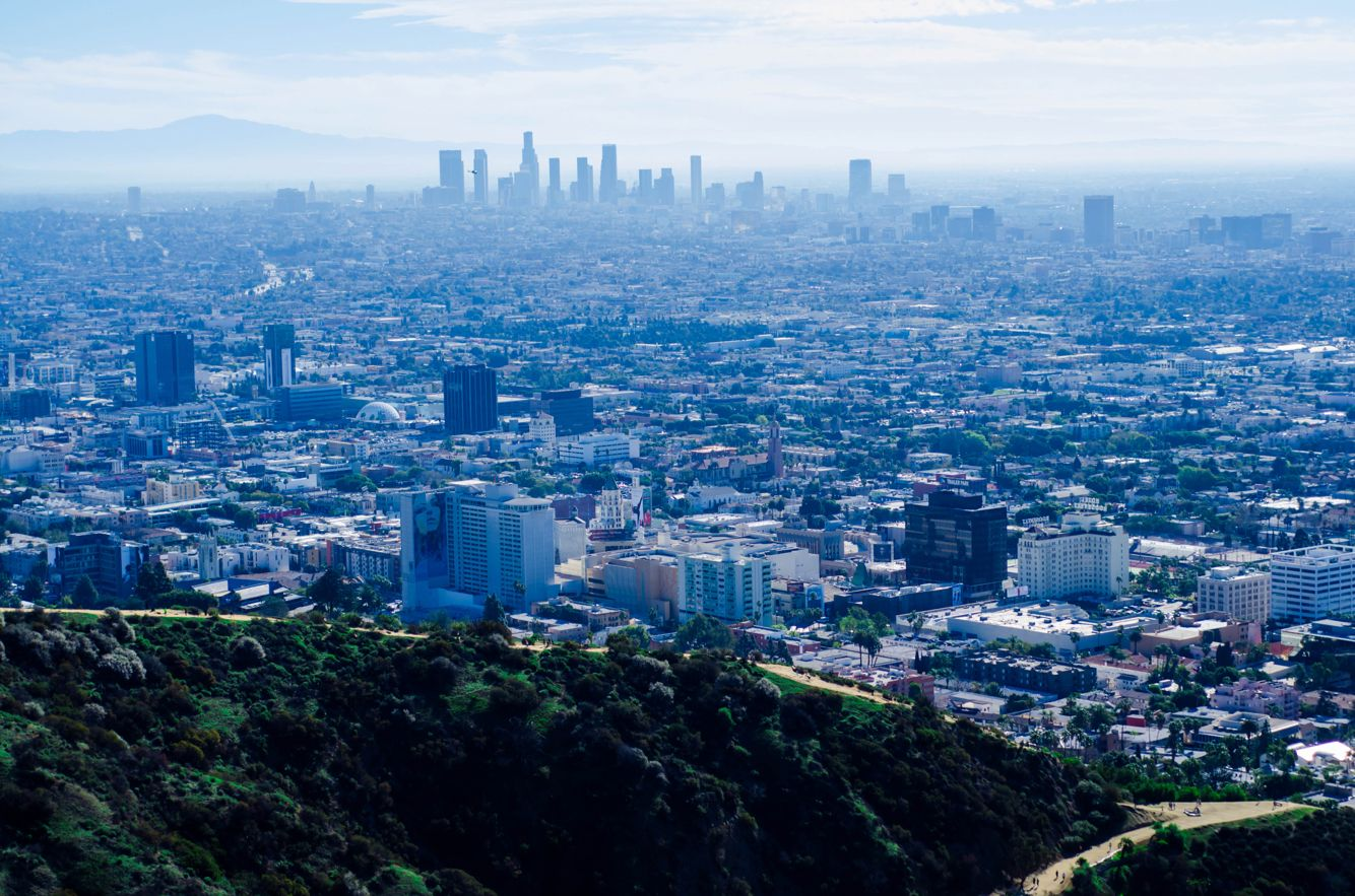 At the top of Runyon Canyon - #Hollywood #LA #Nikon #Prime