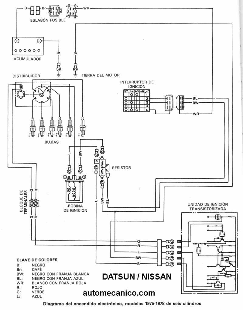 Diagrama Electrico Nissan Tsuru Ii 6 Nissan Floor Plans