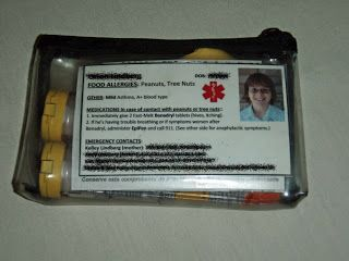 Allergy & Epipen Information