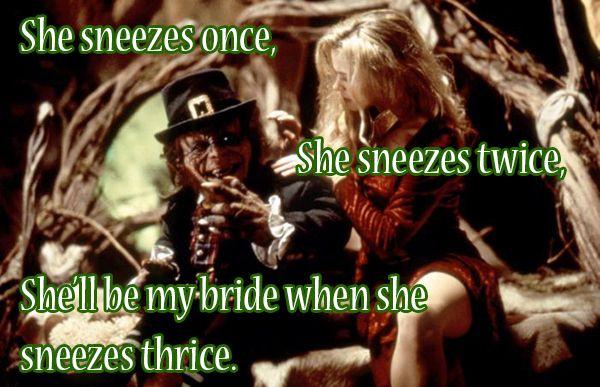 The 10 Most Wtf Leprechaun Quotes Leprechaun Quotes Leprechaun Movie Native American Humor