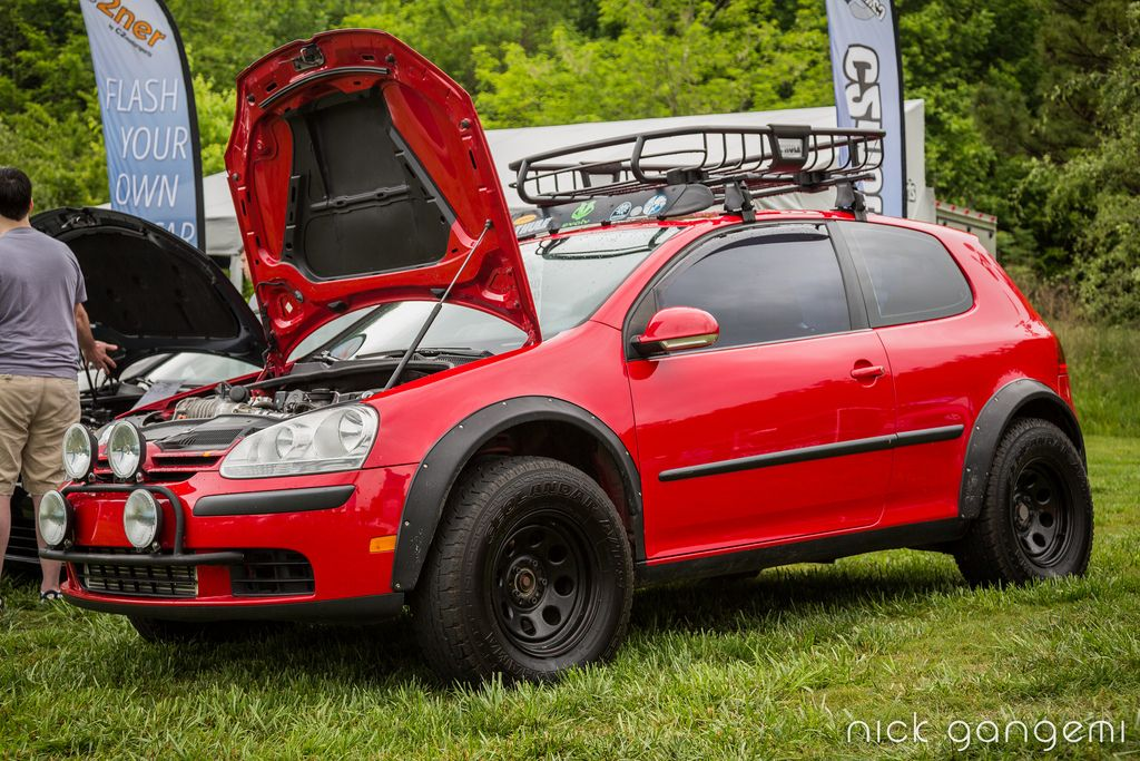 lifted MK5 rabbit @ SOWO
