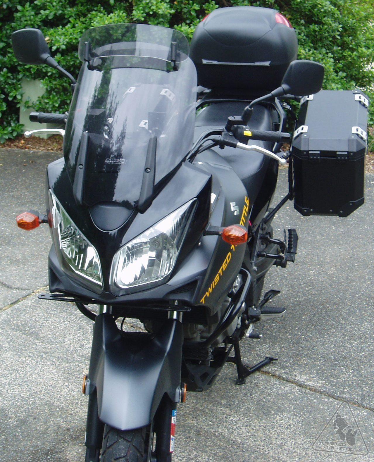 MRA VarioTouringScreen Windshield for Suzuki DL1000 V