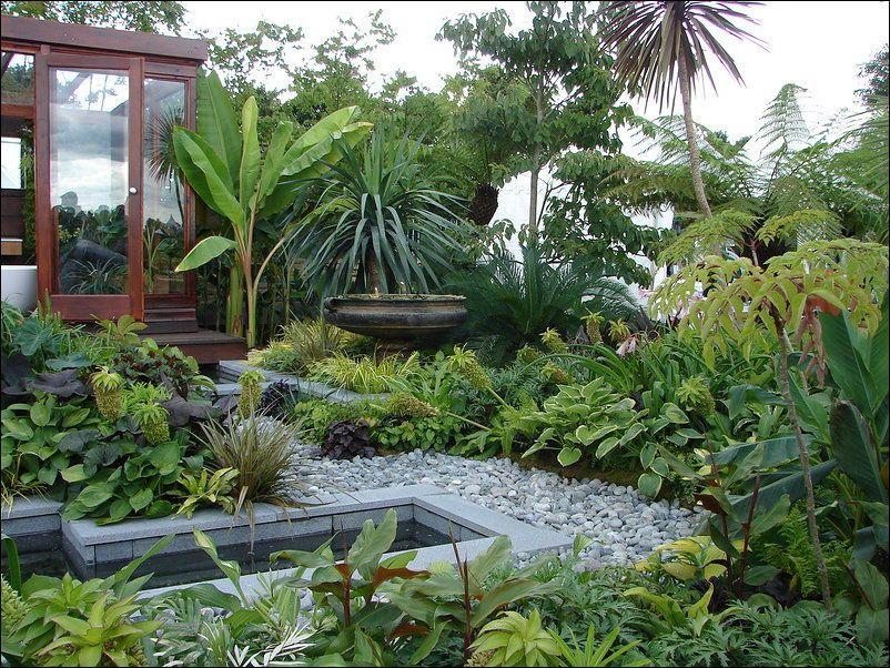 Secret Inner City Gardens 43 Pics Tropical Garden Design