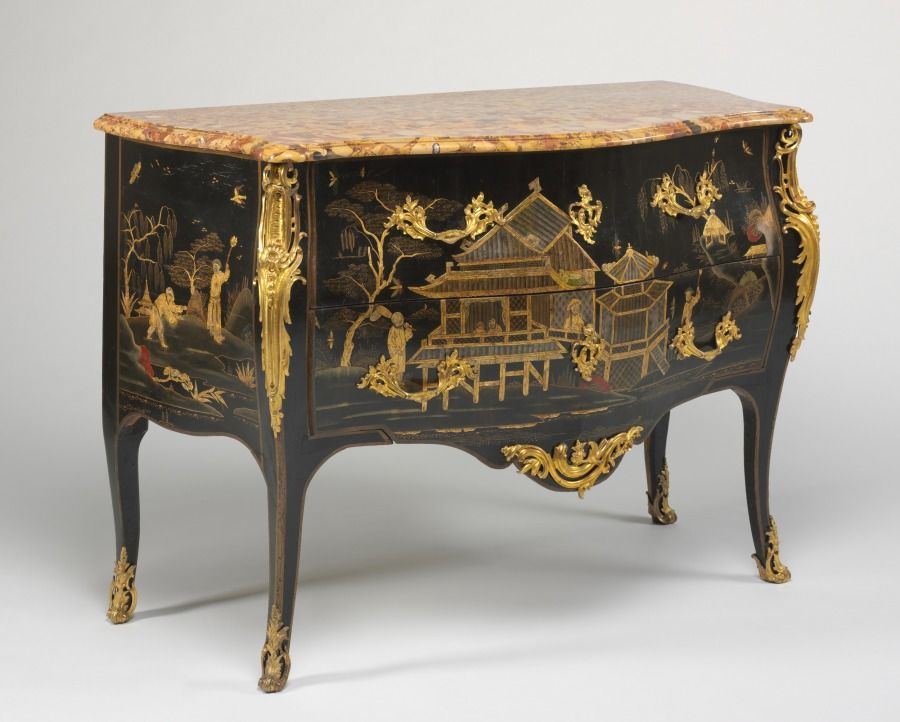 Chest Of Drawers Commode C 1750 1765 Probably By Adrien Faizelot Delorme French Mobilier De Salon Commode