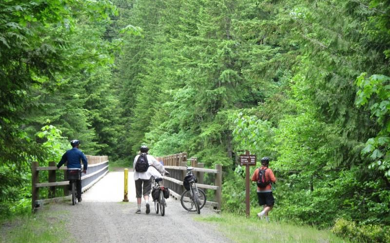 The Cowichan Valley Loop - this is a terrific ride through the spectacular Cowichan Valley