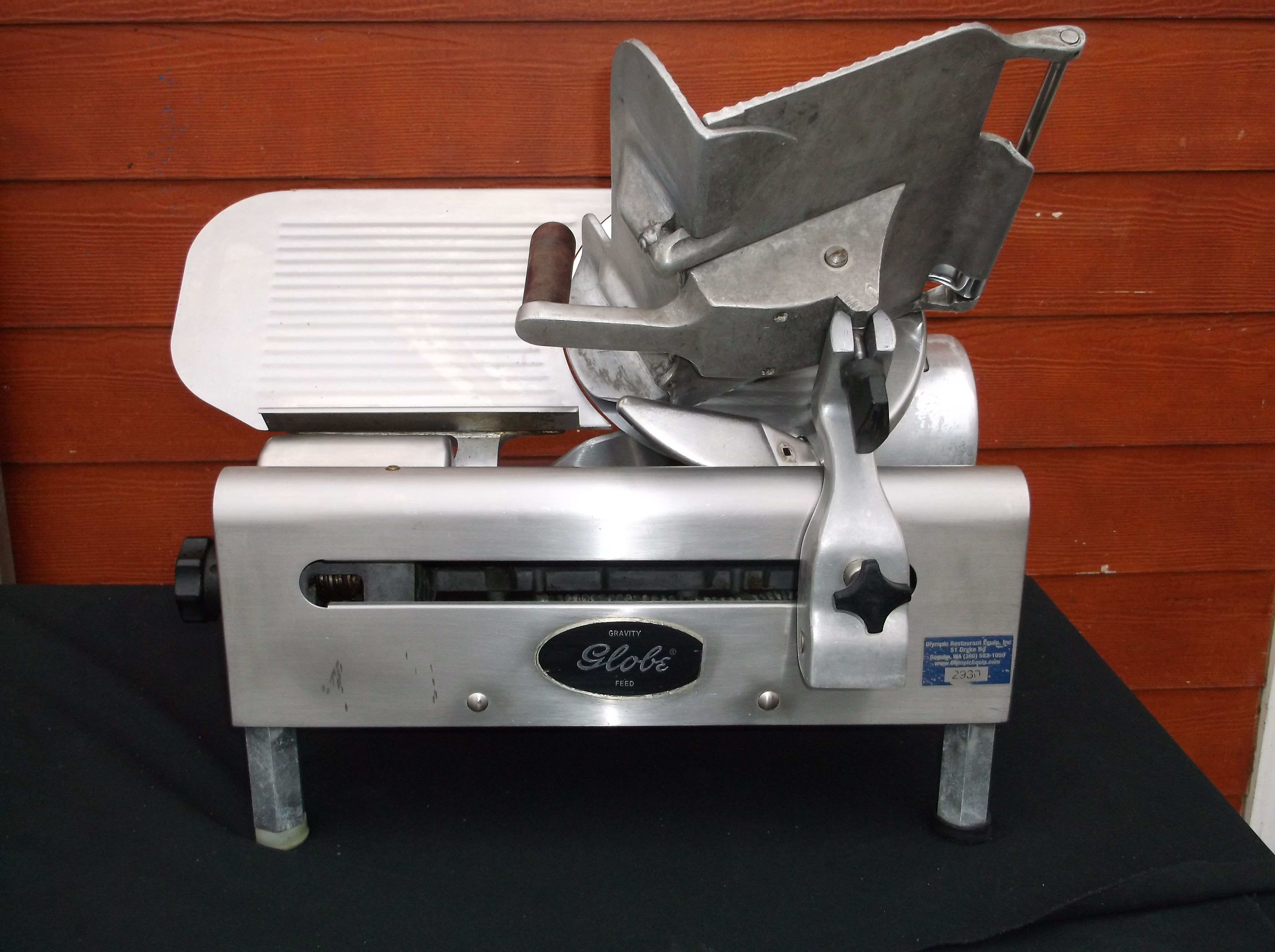 Restaurant Kitchen Operations Manual globe gravity feed slicer #500 - used ue-2930 model #500 for sale