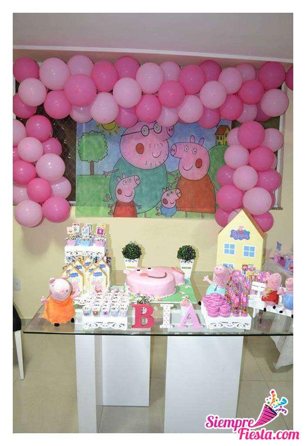 Bonitas ideas para tu pr xima fiesta de peppa pig - Todo para tu fiesta infantil ...