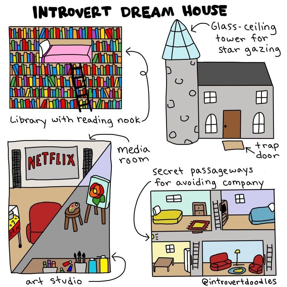 These Comics Will Make Any Introvert Say