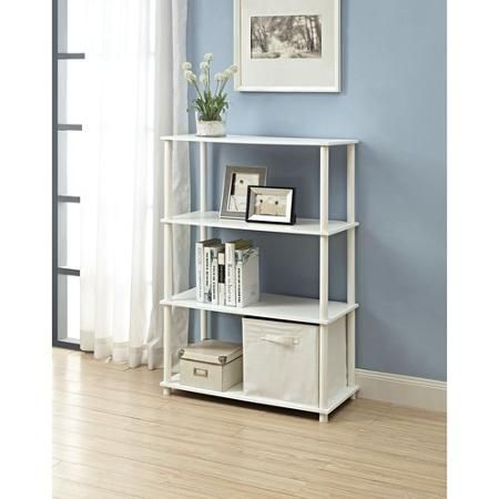 Mainstays No Tools 6-Cube Storage Shelf- $19 88 Walmart