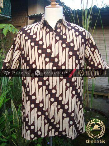 Hem Parang Rusak Warna Lawasan  Indonesia Men Batik Shirt