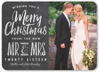 Newlywed Christmas Cards Shutterfly