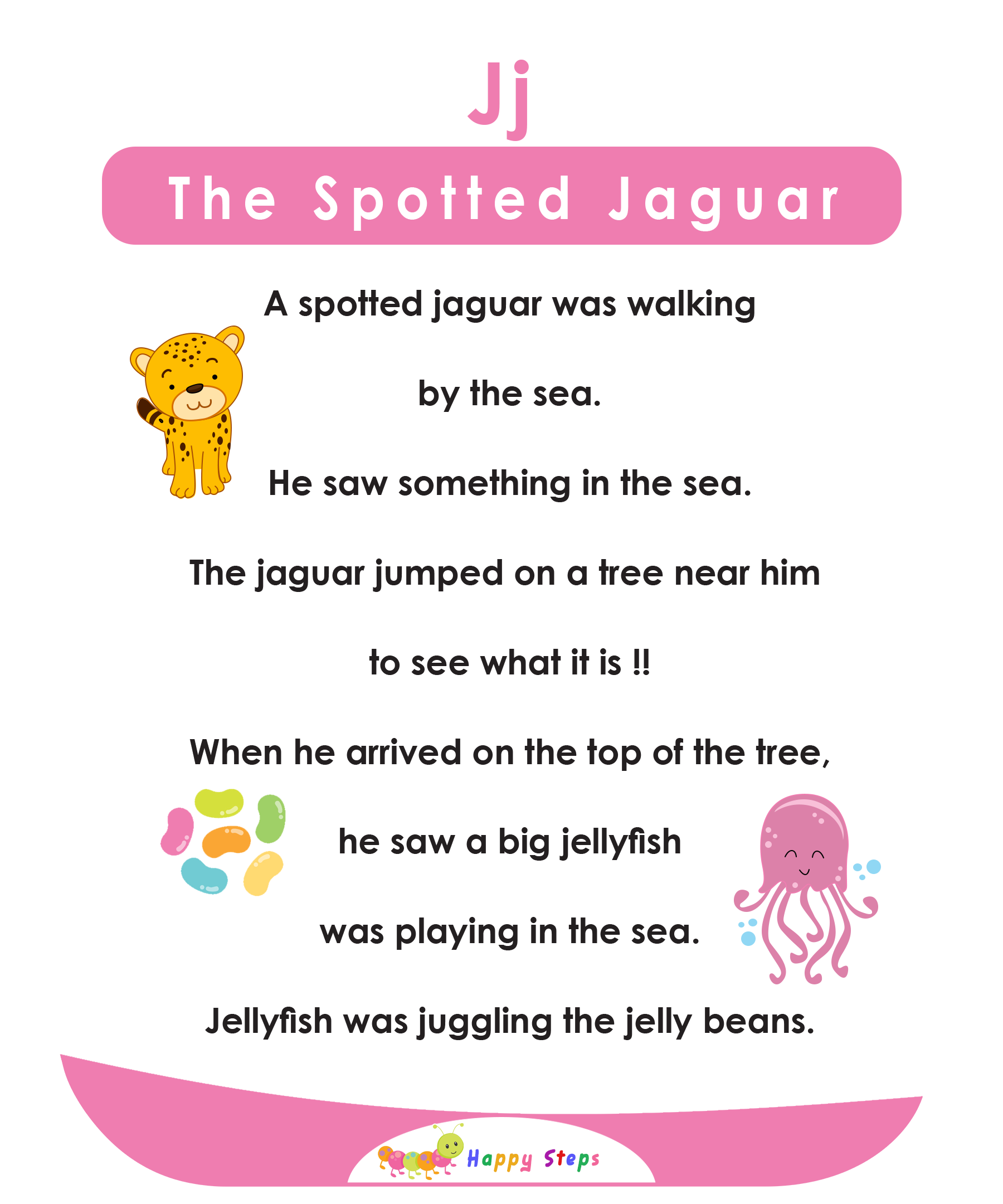 The Spotted Jaguar Alphabet Stories In