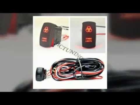 Mictuning Off Road Atv Jeep Light Bar Led Light Rocker Switch Wiring Di Led Driving Lights Led Trailer Lights Jeep Light Bar