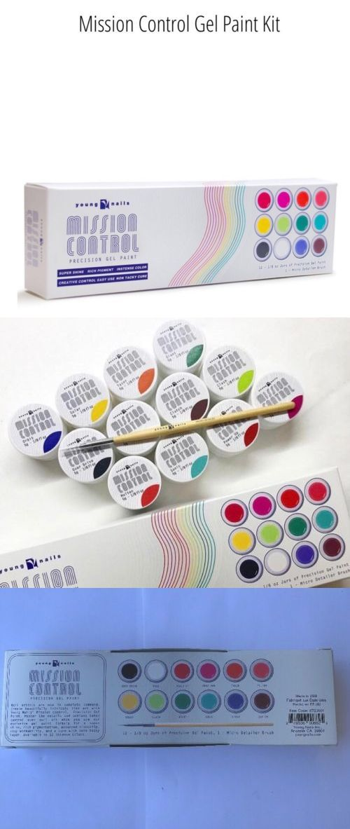 Gel Nails: Young Nails Mission Control Precision Gel Paint Kit 13 ...