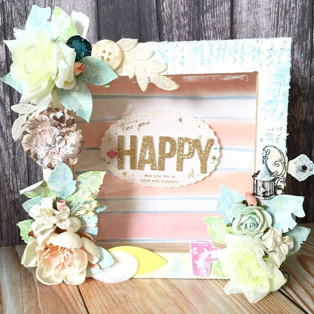 Crafting Fun: Project share / Altered Frame Box 改造相框