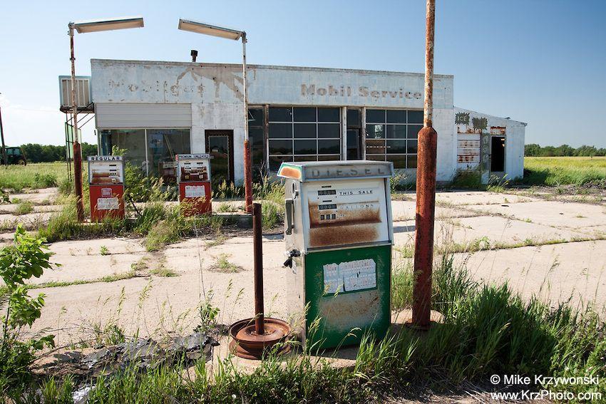 abandoned gas stations Google Search Kansas photos