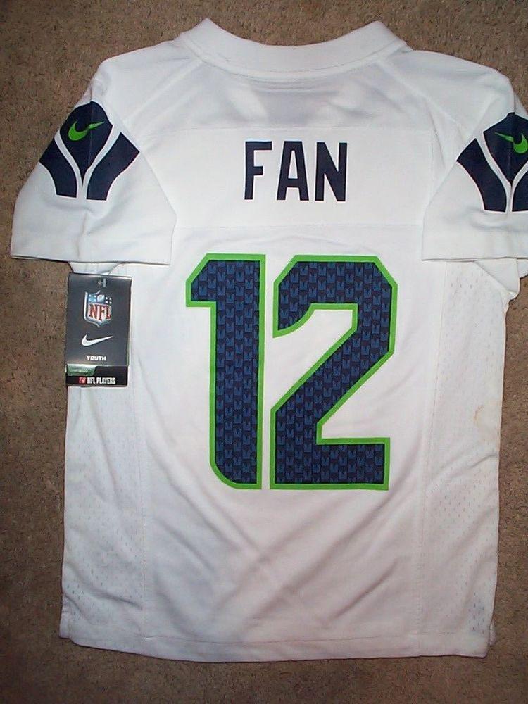2152cb08b  IRREGULAR  Seattle Seahawks  12 (FAN) nfl NIKE Jersey Youth Kids Boys