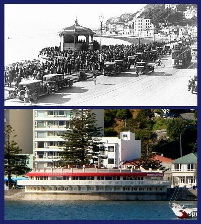 Wellington Then & Now in 2020 Wellington, Before after