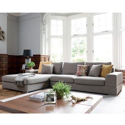 Dwell Verona Modular Sofa With Kid Friendly Removable Cushions