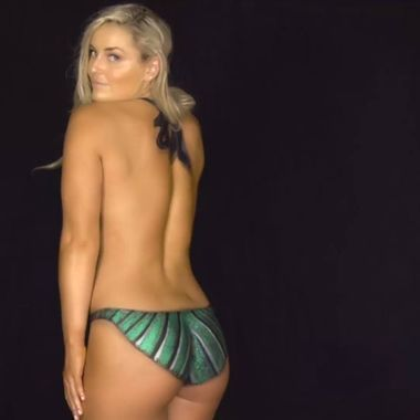 Lindsey Vonn Bodypainting Swimsuit 2016 Special Cut brisbanes.news
