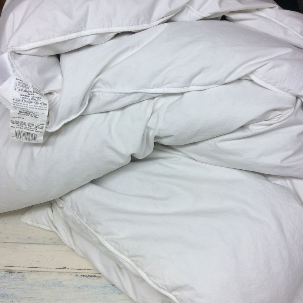 pacific coast european full comforter queen down costco