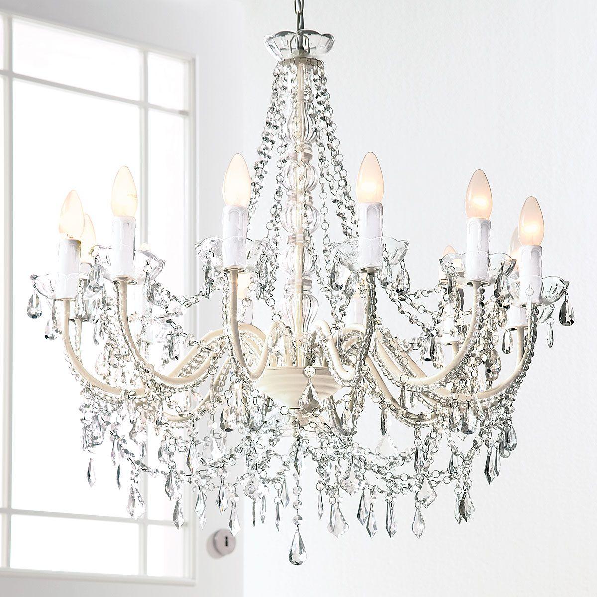 lampen und leuchten kronleuchter weiß