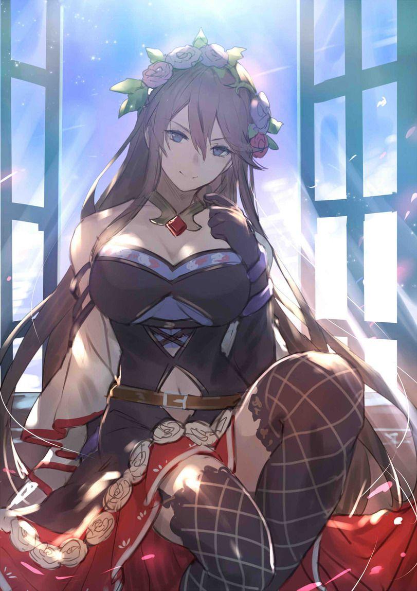 Anime Anime Granblue Fantasy Fantaziya Granblyu Rosetta Granblue Fantasy Rose Queen Kakage Kakage0904 Anime Art Anime Art Girl Anime Characters Character Art
