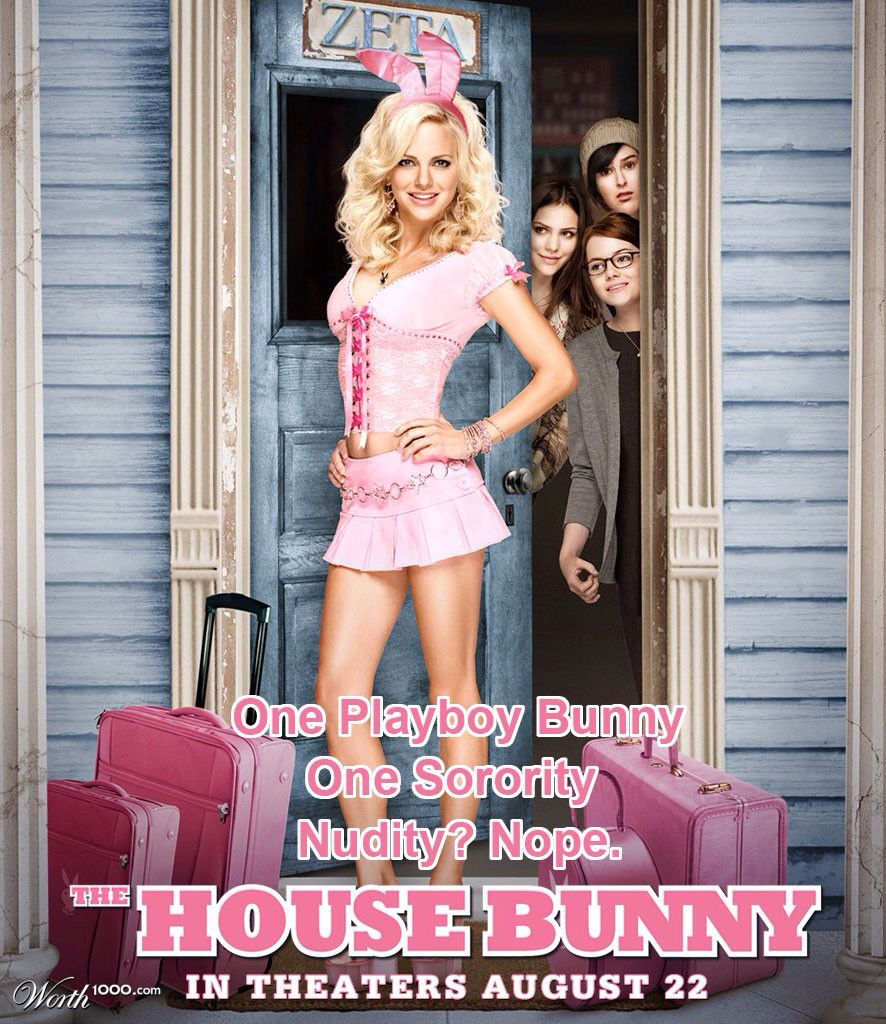 The House Bunny The House Bunny Sorority Movies Anna Faris