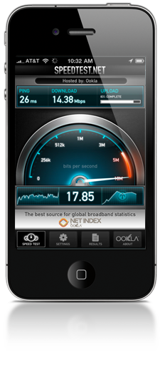 Droid speed tests  Is there a better site to test the speed
