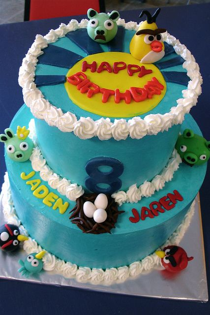 Character Cake For An 8 Year Old Boys Birthday By Herbert Harper Via Flickr