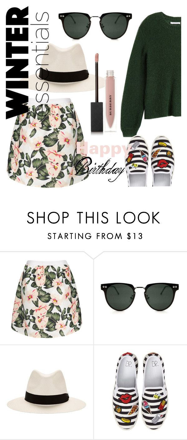 """bday!"" by reinenoire ❤ liked on Polyvore featuring Spitfire, rag & bone, BP. and Burberry"
