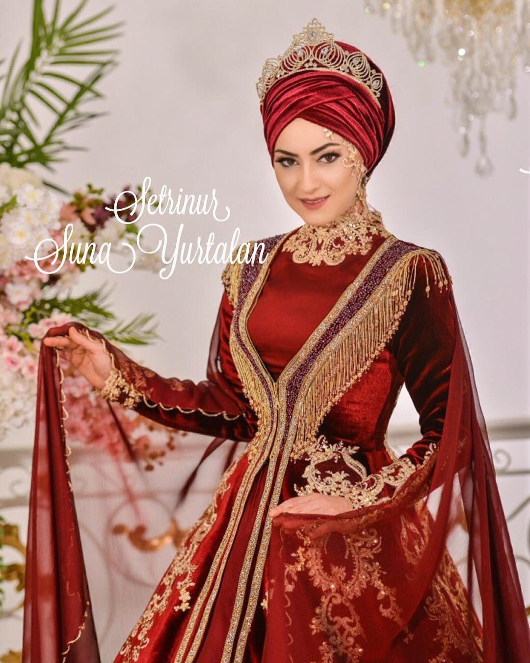 2018 Bindalli Kina Elbisesi Modelleri Tesettur Elbiseleri Tesettur Giyim Moda Trend Portaliniz Kina Gecesi Icin En Model Dress Iranian Women Fashion Dresses