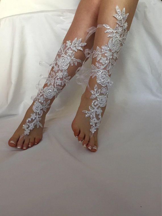 9a5b999bcfb Wedding Barefoot Sandals