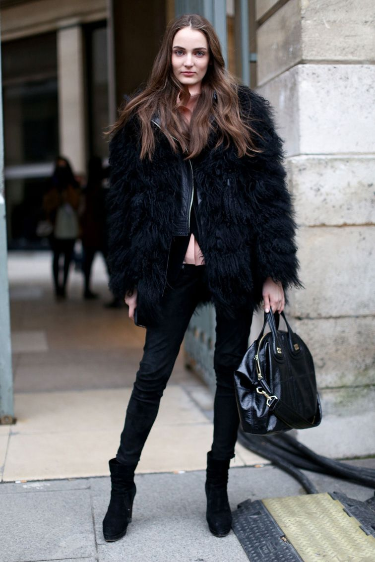 1000  images about Faux fur coats on Pinterest | Karmen pedaru
