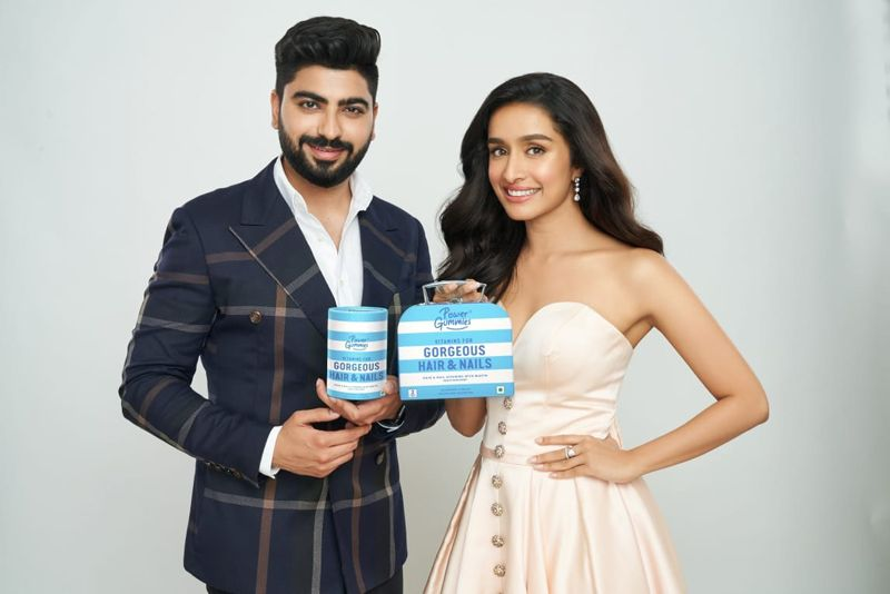 Power Gummies as they announce their new brand ambassador – Shraddha Kapoor