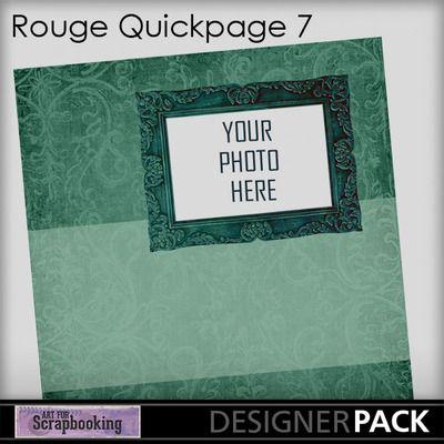 Rougeqp7  #ArtForScrapbooking.com #MyMemories.com #digital #scrapbooking #AFS_sharon