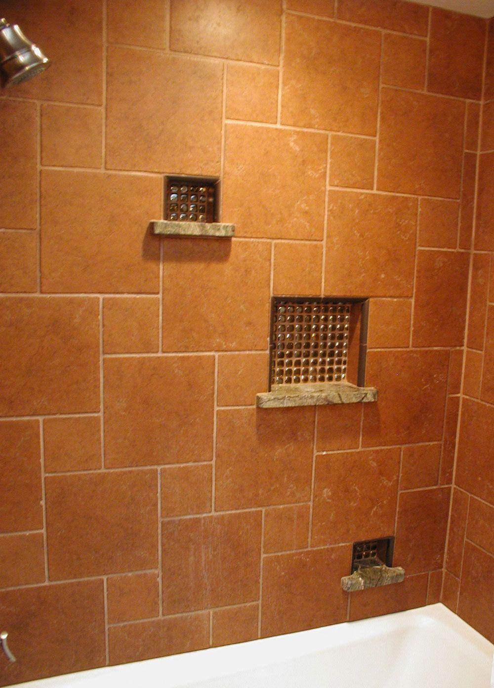 Easy Bathroom Shower Tile Shelves Design Ideas - Beautiful ...