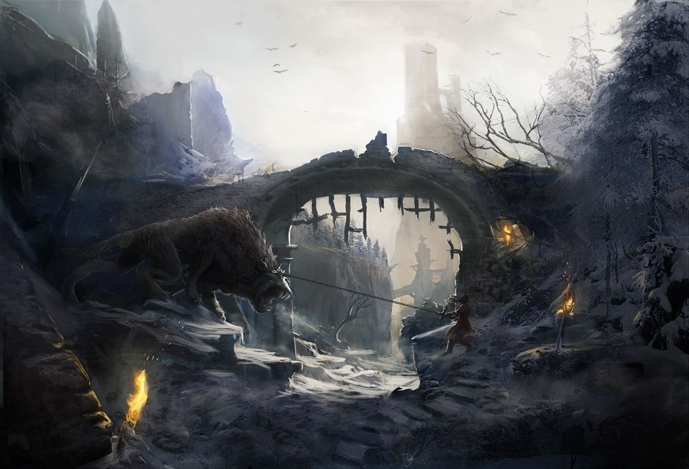 Castlevania Lords of shadow concept art