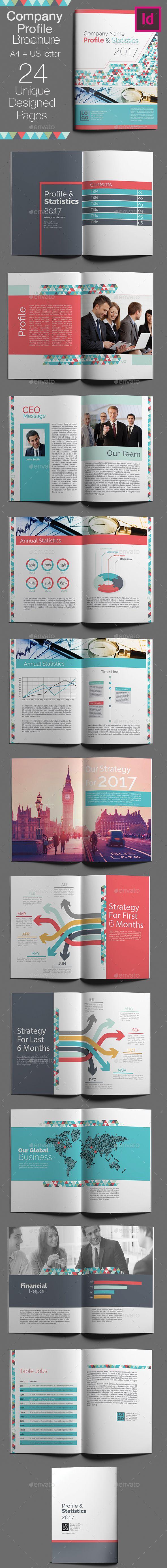 Company Brochure Template | Plantillas de certificado, Diseño ...