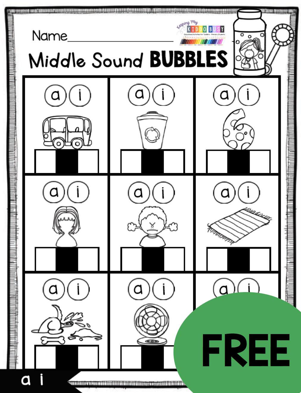 Free Phonics Worksheets And Activities For Teaching Short Vowels Cvc Words Kindergarten First Grade Cvc Words Cvc Words Kindergarten Phonics Lessons [ 1320 x 1010 Pixel ]